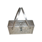 Hammered Aluminum Purse