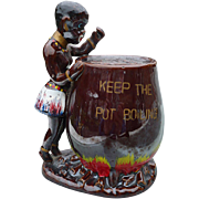 Black Americana Ceramic Bank