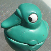 Green Germany Duck  Jar