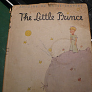 1943 Fifth Printing The Little Prince Book