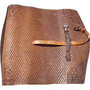Early 20th Century Tooled Leather Document Case