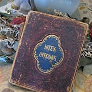 Civil War Confederate Soldier Personal Diary Memoir Book