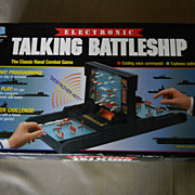 1989 Electronic Battleship Game Milton Bradley WORKS Great Complete