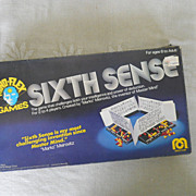 VINTAGE Sixth Sense  by  the  Maker of Mastermind, 1978, Power of Deduction