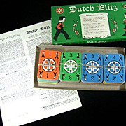 VINTAGE Dutch Blitz Card Game, Daystar, 1973, COMPLETE