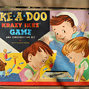 VINTAGE Ike A Doo Krazy Ikes Game by Whitman,