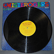 Mister Rogers Know That You Are Special LP Vinyl Record Album, GREAT Condition
