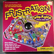 VINTAGE Game of Frustration, Fast and Furious Family Fun, Irwin Toy