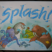 SPLASH, The Card Game of Fast Action and Fast Fun , 1993, Great American Puzzle Factory