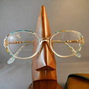 VINTAGE Pair of Ladies Eyeglasses, Spectacles, Reading Glasses, Colorful Frames, 1970s