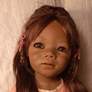 SALE PENDING Beautiful Salinda an Annette Himstedt Doll