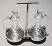 Christopher Dresser designed Cruet Stand C.1880 Elkington & Co
