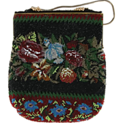 Vintage French Beaded Bag