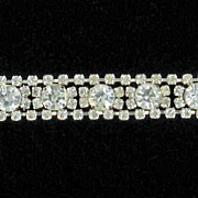 Beautiful Large Rhinestone Bracelet