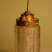 R Lalique perfume atomizer C:1925