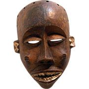 Chokwe Tribally used Mwana Pwo Mask,  Bandundu, Zaire