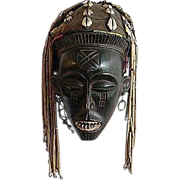 African Tribal Mask, Chokwe Mwanaphwo - Kasai, Zaire