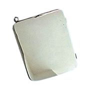 Chatelaine or Purse Photograph Case, Sterling Silver - Edwardian