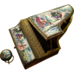 Exceptional Austrian Enamel Music Box in the Form of a Harpsichord - Early 20th