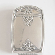 Turn of the 20th Century Match Strike - Sterling Silver