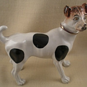 Antique Staffordshire Hound Dalmatian Dog Figure