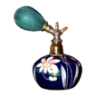 Loetz Hand Painted Perfume Atomizer - Austrian