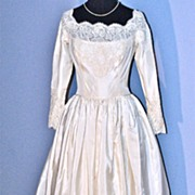 Vintage William Cahill of Beverly Hills Wedding Gown