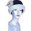 Miss Carnegie Cloche Hat by Hattie Carnegie