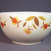 Hall for Jewel Tea Autumn Leaf 5 inch Rayed Bowl - Base Only