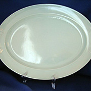 Taylor, Smith, & Taylor Lu-Ray Surf Green Platter