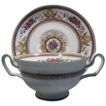Wedgwood Cream Soup and Saucer~Columbia Ivory Circa 1925