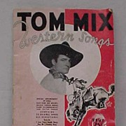 1935 Tom Mix Song Book