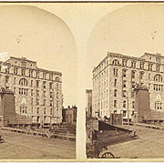 Minneapolis, Minnesota Pillsbury A Mill Stereoview by Vanderwarker & Nally