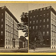 St John, New Brunswick, Canada Victoria Hotel Stereoview by Climo