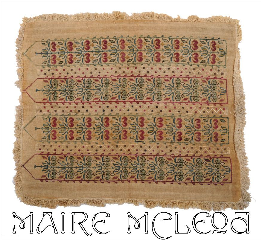 Antique th c greek island embroidery from mairemcleod on