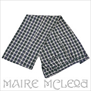 SALE Haggar Tartan Plaid Men's 1970's Slacks Trousers - 36+""