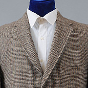 SALE 1960's Men's Harris Tweed Sport Coat Jacket  41-42