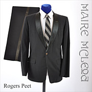 Vintage Rogers Peet  50s - 60s Tuxedo - 38 / 39