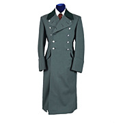 1960's German BGS Border Guard Great Coat - BundesGrenzSchutz