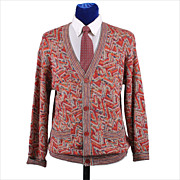 SALE Vintage Missoni Men's Cardian Sweater - M / L