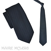 Christian Dior 1970's Fine Dotted Men's Tie 4""