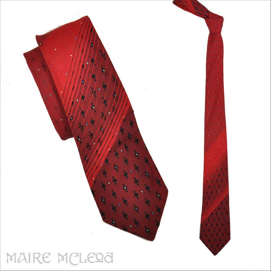 1950 s ombre brocade s tie wembley 2 1 2 quot from