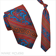 1970's Tie // Vintage 70s Elegant SILK Brocade Tie  4&quot;