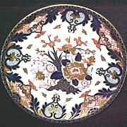 Royal Crown Derby Cabinet Plate