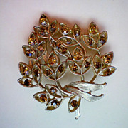 REDUCED Autumn Leaves Brooch