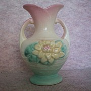 REDUCED Hull Water Lily Vase ~ 5 � Inch ~ circa 1948