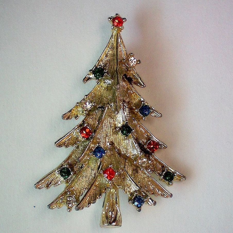 Rhinestone Studded Christmas / Holiday Tree