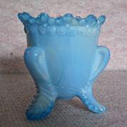 REDUCED Boyd Forget-Me-Not Toothpick Blue Slag