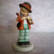 REDUCED Goebel Hummel Little Fiddler 3 inch Figurine