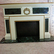 Petite Princess Dollhouse #4422-2 Regency Fireplace by Ideal
